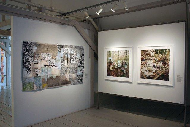 Hawk & Handsaw Exhibition-CMCA-Karen Gelardi, Lauren Henkin